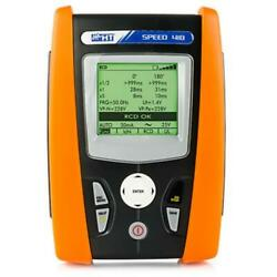 Ht Instruments Speed 418 Safety Tester Ground/earth Resistance And Rcd Tests.