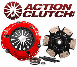 Action Stage 3 Sprung Racing Clutch Kit For 91-95 Toyota Mr2 2.2l Non-turbo 5sfe