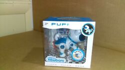 New Tekno Newborn Electronic Robotic Pet Puppy - Blue Color And White Lb92