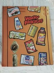 Wacky Packages 2 Packets Binder Folder By Topps. 2006. New