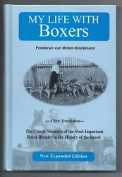 RARE BOXER DOG BOOK FRIEDERUN STOCKMANN quot;MY LIFE WITH BOXERSquot; MINT BEST PRICE