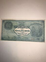 Wallace Broandrsquos. Statesville Nc 10 Cents