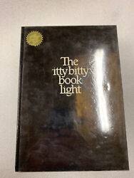 1982 Zelco The Itty Bitty Book Light Original Light And Instructions