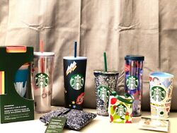 Very Rare- Starbucks Limited Edition Back To School Collection- All 9 Pieces