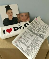 General Hospital Kathleen Gati Dr. O Scripts Photos Tee Bottle Signed Package