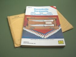 Jimmy Lile Knife / Vintage Russellville Dardanelle Telephone Directory / New