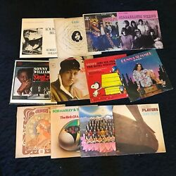 Lot Of 12 Record Album Covers Only Art Crafting Lp Decoration Retro Rock Decor