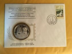 Andnbspinternational Postmasters Ltd. Edition Sterling Silver Proof And Stamp 10/10/75