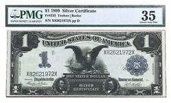 1899 Black Eagle Large Silver Certificate Note Pmg Choice Very Fine 35