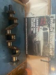 Allis Chalmers Wc Tractor Ac Engine Motor Crankshaft And Drive Gear Antique
