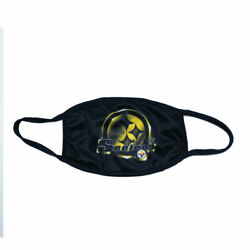 Pittsburgh Steelers Face Mask Football NFL Reusable Washable Double Layer Cotton $9.99