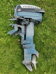Parting Out Johnson Evinrude 15016 Evinrude 15hp 1956 Boat Motor Outboard Parts