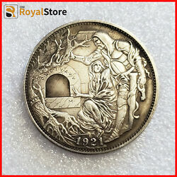 Hobo Nickel Coin roman booteen Dollar Hand Carved Coins free shipping $17.69