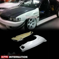 Fit For Toyota 100 Chaser Frp Unpainted Dm Style Front Vented Fender Mudguards