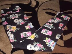 Cameras Photography Photographer OS One Size Leggings Fits 2-12 $18.00