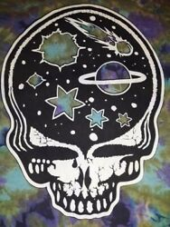 Discontinued Htf Gypsy Rose Grateful Dead Stealie Hooded Dress Shirt Free Size