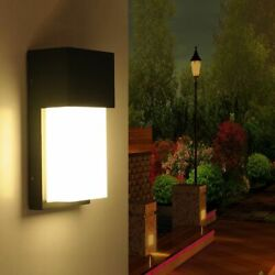 Waterproof Wall Lamps Outdoor Porch Balcony Modern Warm White Fluorescent Lights