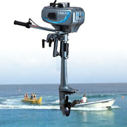 Outboard Motor 3.5 Hp 2 Stroke Fishing Boat Engine Water Cooling Short 40cm Ce