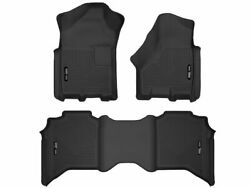 For 2019-2020 Ram 2500 Floor Mat Set Front And Rear Husky 53975zy Lone Star