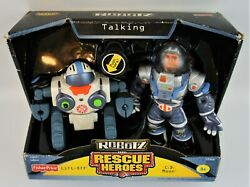 Fisher Price 2004 Discontinued Talking Robotz Lift-off And C.d. Moon Unopened Pack