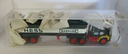 Hess Toy Bank Truck - With Acrylic Case- No Box - Pre Owned