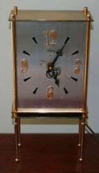 Scarce 1953 General Electric Telechron 5h67 Mid Century Clock Only 853 Sold