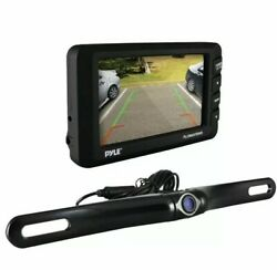 Pyle 4.3 Lcd Monitor And Wireless Rearview Backup Camera With Parking/reverse Ass