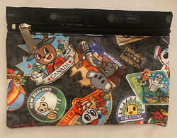 Brand New LeSportsac Limited Tokidoki Cosmetic And Pouch Bag $40.00