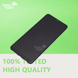New LCD Display Touch Screen Frame Full For Samsung Galaxy A20s 2019 SM A207 USA $27.99