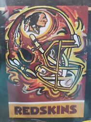 Nfl Washington Redskins Team Flag 29 X 43 Two Sided Suede Reflections