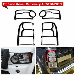Fit For Land Rover Discovery4 Head Light Andtail Light Cover Protector 2010-2013