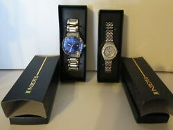 Avon Elgin Ii Watch A Couples Set---one Mens One Womens