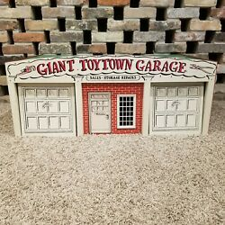 Very Rare Rich Toys Vintage Giant Toy Town Garage Scarce Antique With Box