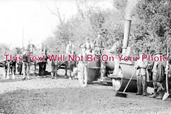 Co 1709 - Steam Engine Road Workers Govier Cornwall