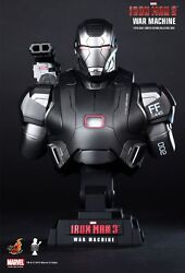 Hot Toys Iron Man 3 War Machine 1/4th Scale Limited Edition Collectible Bust
