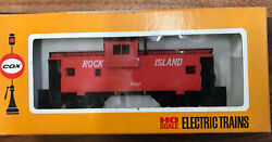 Cox Ho Scale Electric Trains Rock Island Caboose Part Number 6170-8 13d