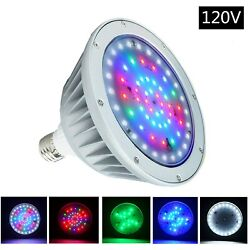 120v / 40w Rgbw Swimming Pool Led Light Color Changing For Pentair Hayward
