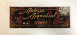 Igt I-game Top Glass Antique Appraisal