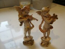Cherubs/angels Depose Italy Playing Musical Instruments.
