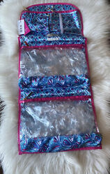 NWT Lilly Pulitzer For Target Hanging Cosmetic Bag Valet Travel Makeup Storage $39.99