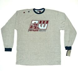 Nwt Rocawear Shirt Men's Size Xl, Gray Embroidered Ls Designer Apparel New 40