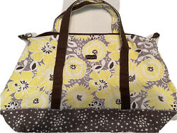 Thrity One Large Tote Yellow Flowers