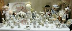 Huge Vintage Lot Of Precious Moments Collectibles