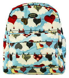 Hearts Love Bags School Canvas Backpack Teen Girls Student Large Travel Kids $24.99