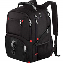 Travel Backpacks for Men WomenExtra Large 17 Inch Laptop with USB Port amp; Rain $35.62