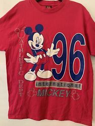 Mickey Mouse Unlimited Athletic Dept Vtg Xl One Sz Fits All 96 Jerry Leigh