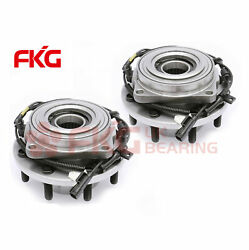 2 New Front Wheel Bearing Hub For 2011-2016 Ford F-350 Super Duty 4wd 515131