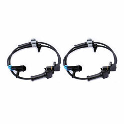 Pair Of 2 Als482 Abs Wheel Speed Sensor Front Right And Left Fits Chevrolet And Gmc