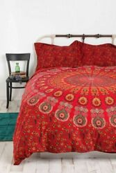 Mandala Bedding Double Duvet Cover Comforter Set Bohemian Bed Quilt Cover Set