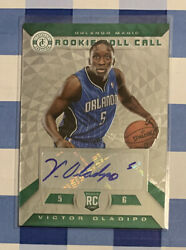 Victor Oladipo 2013-14 Totally Certified Emerald Rookie Rc Auto 1/5 1/1 Green